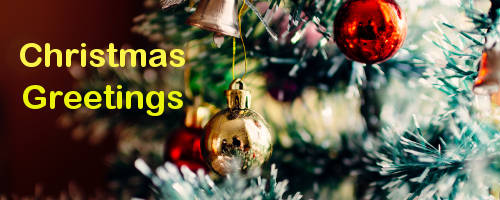Send a christmas greeting to your friends, family or customers on ...